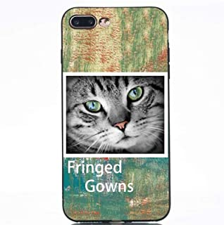 Cell Phone Accessories for IPhone 8 Plus, Cat Painted Pattern Soft TPU Case for IPhone 7 Plus (Color : Multi-colored)