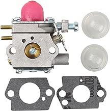 Savior WT973 Carburetor for Bolens BL110 BL160 Troy Bilt TB80EC Carburetor TB21EC TB22EC TB32EC TB42BC MTD 753-06190 Weedeater Trimmer 753 06190