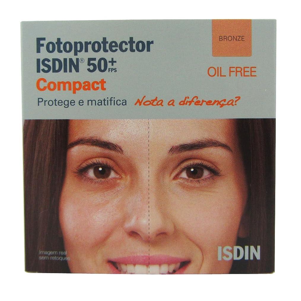 撤回する劇作家服Isdin Photoprotector Compact 50+ Bronz 10g [並行輸入品]