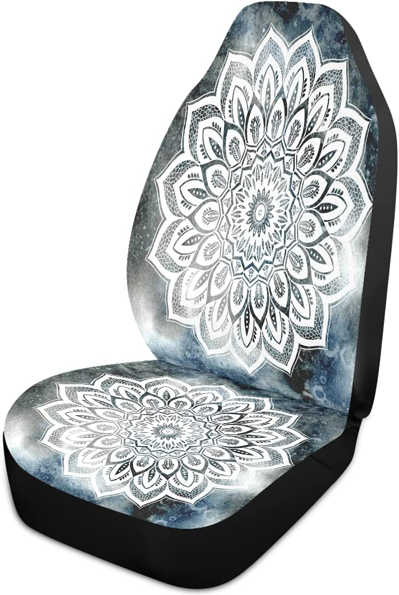 Oarencol Mandala sold out Lotus Flower Ranking TOP4 Galaxy Covers Boho Seat Style Car