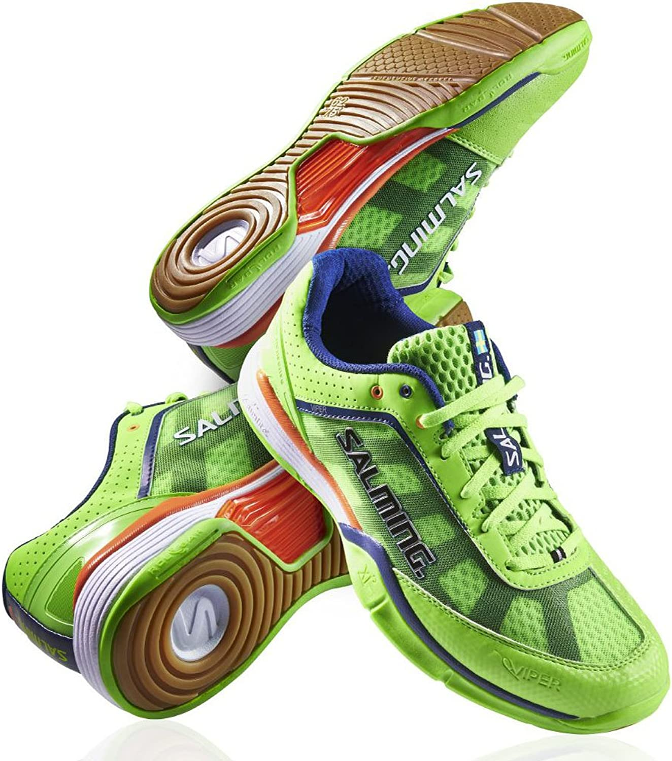 Salming Viper 2.0 Gecko Green Men's Squash shoes