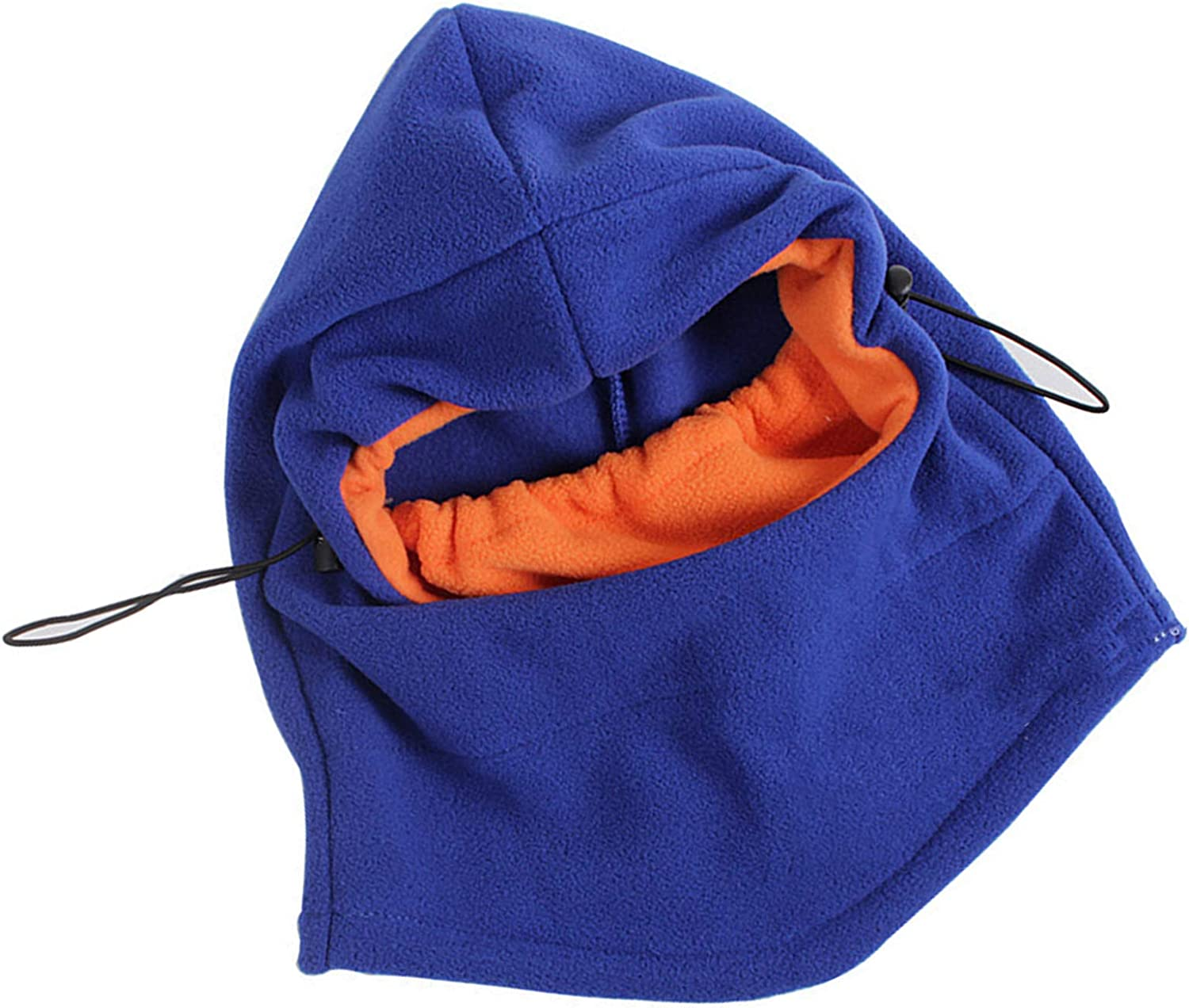 Camidy Kid Hat Hood Scarf Set,Toddler Thick Warm Hat with Attached Scarf 2-8 Years