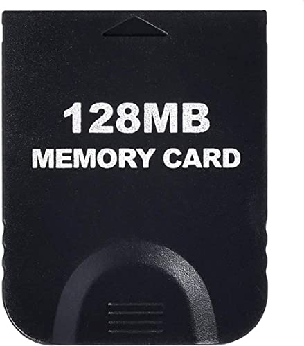 Memory Card 128 MB compatible for Nintendo Wii and GameCube by Mario Retro