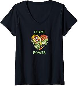 Vegan Vegetarian V-Neck T-Shirt