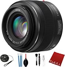 Panasonic Leica DG Summilux 25mm f/1.4 ASPH. Lens with Pro Cleaning Kit