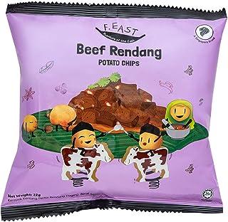F.EAST Beef Rendang Potato Chips, 22g