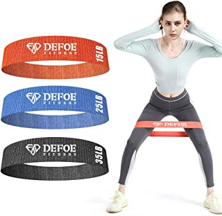 Dprofy Resistance Booty Bands Set - Non-Slip Thicken Booty Resistance Band for Legs and Butt, Exercise Bands Set for Women...