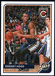 2015-16 Complete Basketball #263 Rodney Hood Utah Jazz Official NBA Trading Card made by Panini