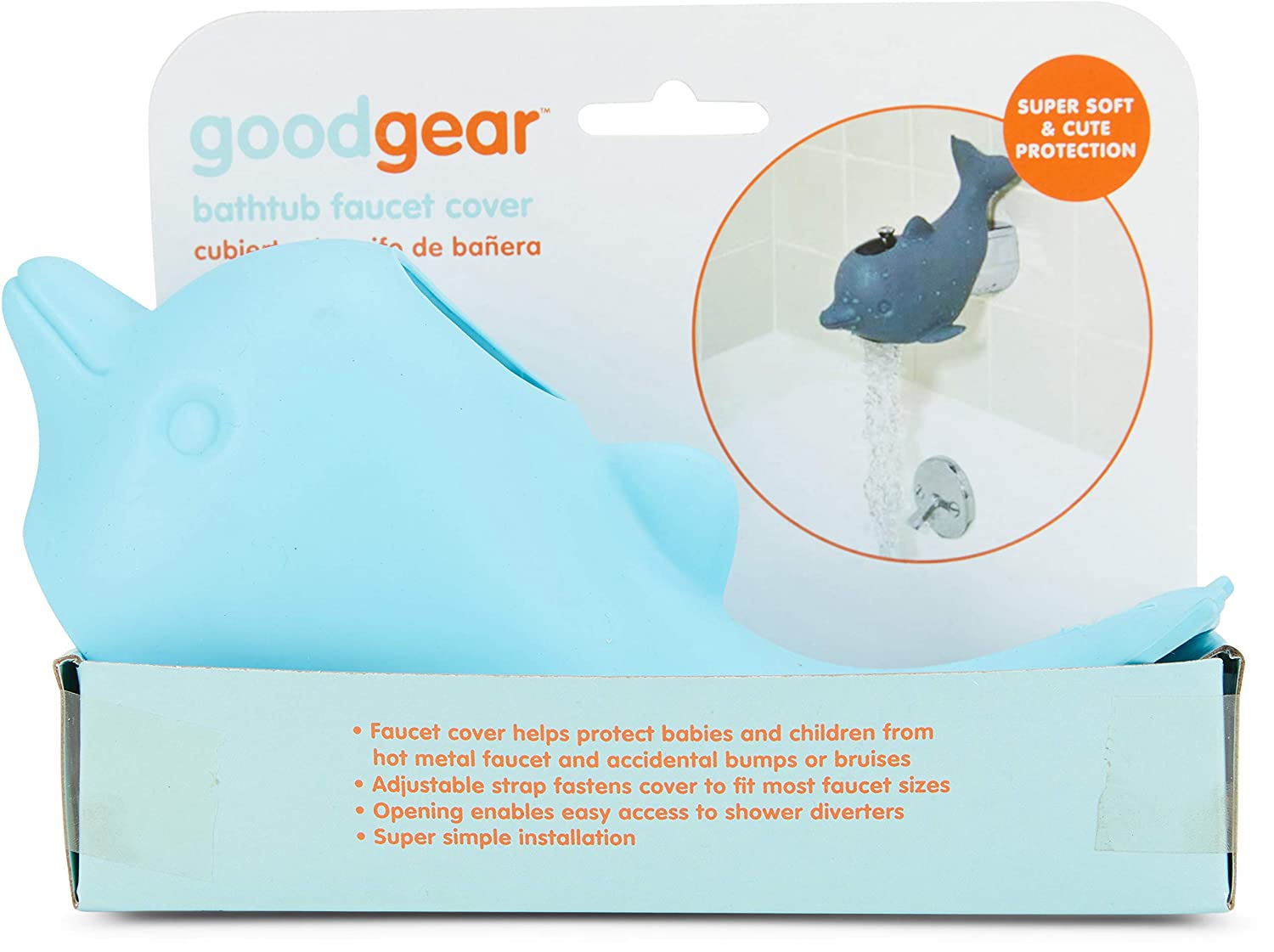 Good Gear Dolphin Faucet Cover -Blue