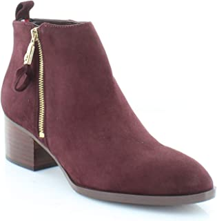 Tommy Hilfiger Womens Reiz Suede Ankle Booties