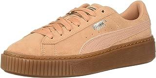PUMA 女士麂皮防水台运动鞋