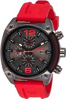 Diesel Overflow, Men's Chronograph Watch, DZ4481 - Red