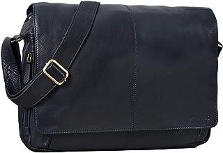 STILORD Vintage Ledertasche Männer Frauen Businesstasche zum Umhängen 15,6 Zoll Laptoptasche Aktentasche Unitasche Umhängetasche Leder