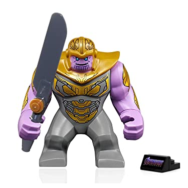 LEGO Super Heroes Avengers Endgame Minifigure - Thanos (with Armor and Sword) 76131