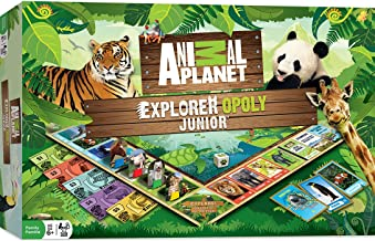 MasterPieces Animal Planet Explorer Opoly Jr. Board Game