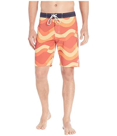 Toes on the Nose Mission Wave Boardshorts (Nantucket) Men