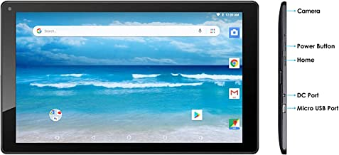 10 Inch Quad Core Android 8.1 OS Google Certified tablet By Azpen with Bluetooth Play..