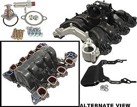 APDTY 726486 Intake Manifold w/Plastic Throttle Body Housing Upgraded Metal Coolant Passage Fits Ford F150 Lobo Pickup w/4.6L Romeo Engine Ford E150 E250 Van w/4.6L Romeo Engine (8th Digit Of VIN W)