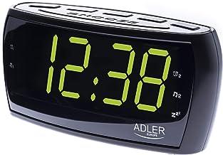 Adler AD 1121 Radiowekker, zwart, één