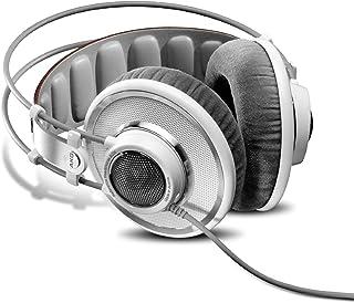 AKG K 701 Plata, Color Blanco Circumaural Diadema Auricular - Auriculares (Circumaural, Diadema, Alámbrico, 10-39800 Hz, 3 m, Plata, Blanco)