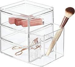 InterDesign Clarity 3-Drawer with Side Organizer