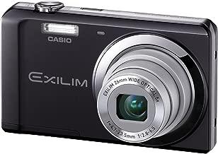 Casio Exilim EX-ZS5 Black 14 MP Stylish and Slim Digital Camera with 5x Wide-Angle Zoom