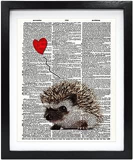 Best hedgehog wall art Reviews