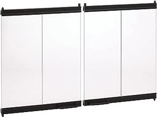 Marco 36 inch Bi-Fold Fireplace Door Set