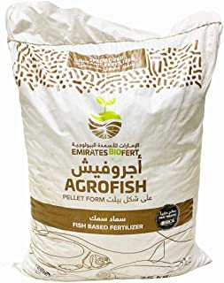 Agro Fish Manure Heat Treated   UAE Ministry Approved Organic Fertilizer   25 Kgs   No.1 Choice of Organic Growers
