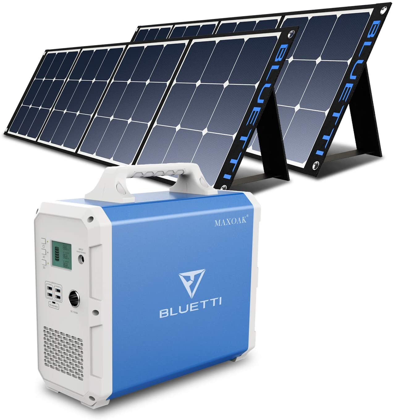 Max 85% OFF BLUETTI EB240 Portable Power Station Pane 2pcs Solar Discount is also underway with 2400Wh