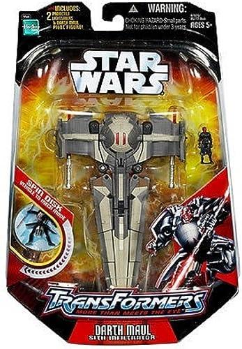 Star Wars - Transformers [Darth Maul   Sith Infiltrator]