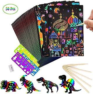 bhdlovely 3D Magic Pad LCD Schreibtafel Kinder Writting Board Zeichenbrett mit 8 Farbstifte Zaubertafel Magnettafel Magicpad f/ür Kinder ab 3 jahre