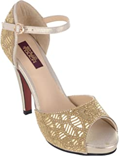 Shuz Touch Golden Sandal