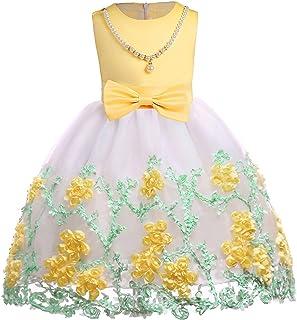 bca05b184f80 Ankoee Niña Flor Princesa Vestido de Fiesta de Cumpleaños de la Boda 3-10  años