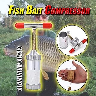 liuliuzuQQ New Fish Bait Compressor-Fast Lure Shaping, Fishing Lure Shaper Bait Hook for Saltwater Freshwater Bass Kayak Ice Fishing