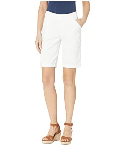 Jag Jeans Gracie Pull-On Bermuda Shorts Twill (White) Women