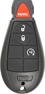 Replacement Keyless Remote Fob Key Shell Case For 2013-2018 Ram Truck 1500 2500 3500 GQ4-53T 56046955