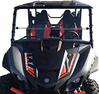 Best yamaha wolverine x4 folding windshield Reviews