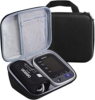 PAIYULE Carrying Case Compatible Omron 10 Series BP785N / BP786 / BP786N Wireless Upper Arm Blood Pressure Monitor, Fits Charger and Cuff -Black