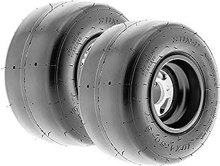 SunF Go-Kart & Kart-Racer Slick Tire 10x4.5.00-5, 4-Ply, Smooth Tread, Tubeless