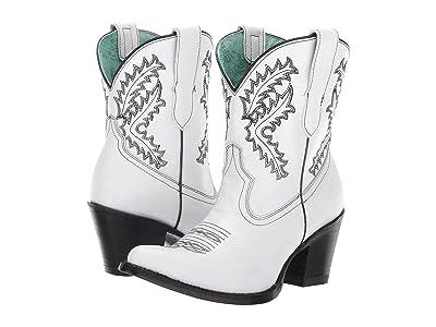 Corral Boots E1436 (White) Cowboy Boots