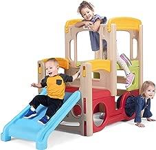 Simplay3 Young Explorers Adventure Climber - Indoor Outdoor Crawl Climb Drive Slide Playset for Children