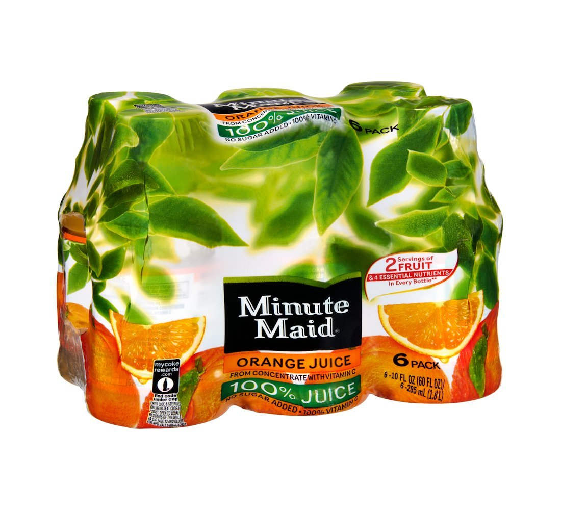 Minute Maid Juices shipfree To Go 100% Juice Oz Pack Raleigh Mall 4 Orange 10 -