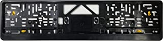Premium European License Plate Frame - Evolution 3 - Black