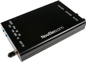 NooElec Extruded Aluminum Enclosure Kit for HackRF One by Great Scott Gadgets (Black)
