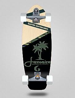 Glutier Surfskate with T12 Surf Skate Trucks Jamai...