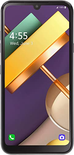 new arrival TracFone LG Premier Pro Plus 4G LTE Prepaid Smartphone outlet online sale (Locked) - Black wholesale - 32GB - Sim Card Included - CDMA sale