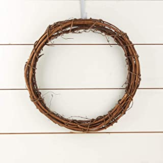 Factory Direct Craft Group of 2 Natural Dried Grapevine Wreaths 18