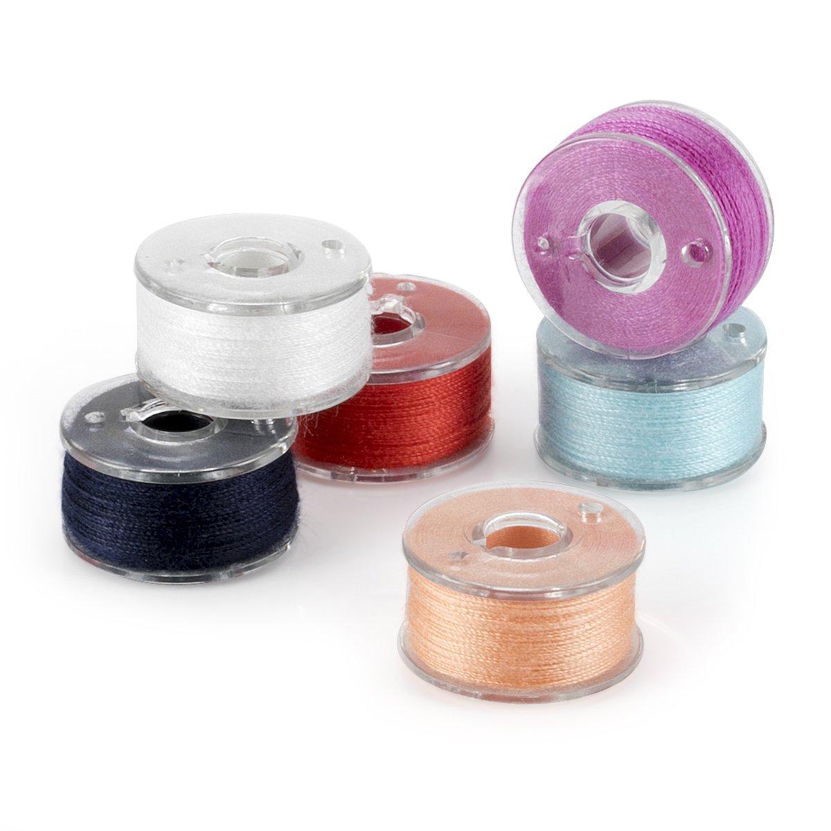 Witasm Bobinas de la máquina de coser con 50 hilos de coser ...