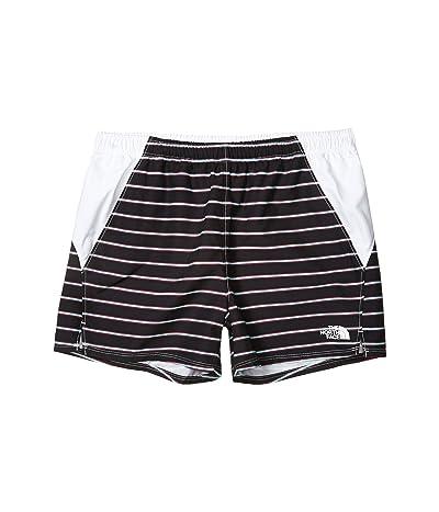 The North Face Kids Class V Water Shorts (Little Kids/Big Kids) (TNF Black Stripe Print) Girl